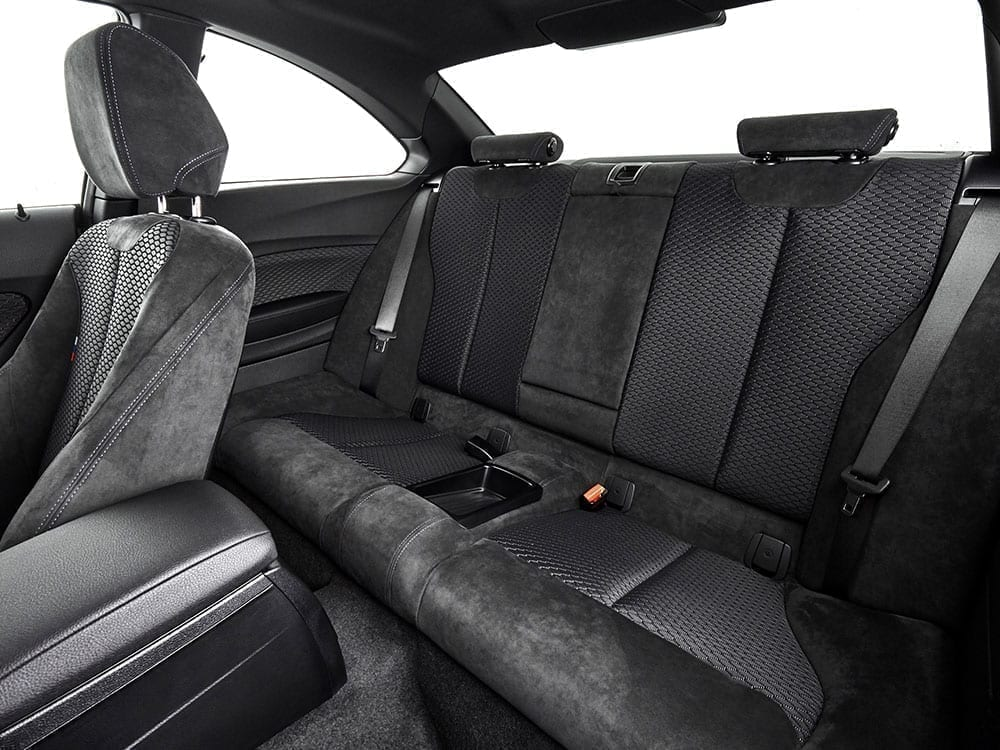 Interior alcántara BMW Serie 2