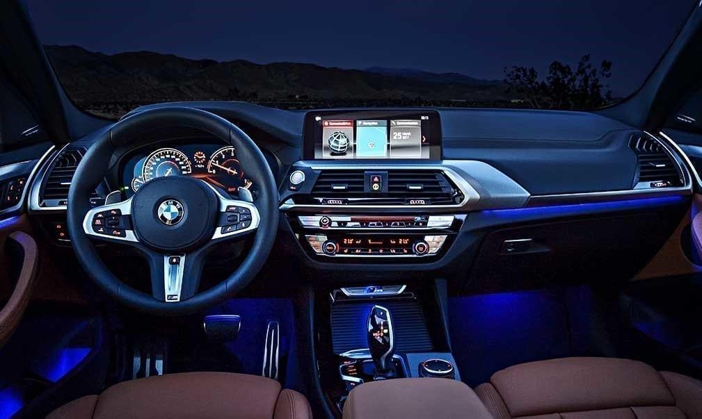 Diseño interior del BMW X3