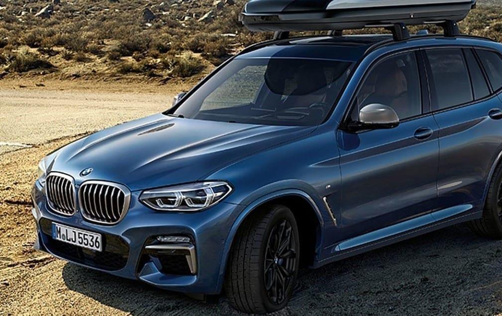 BMW X3 xdrive20d con un motor diésel de cuatro cilindro
