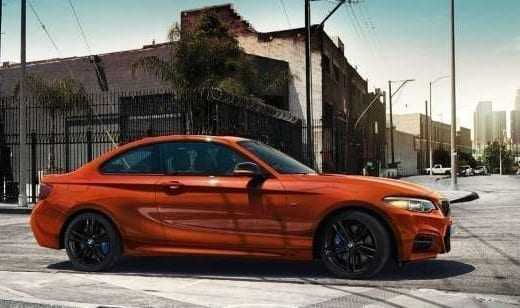 Diseño exterior del BMW M2