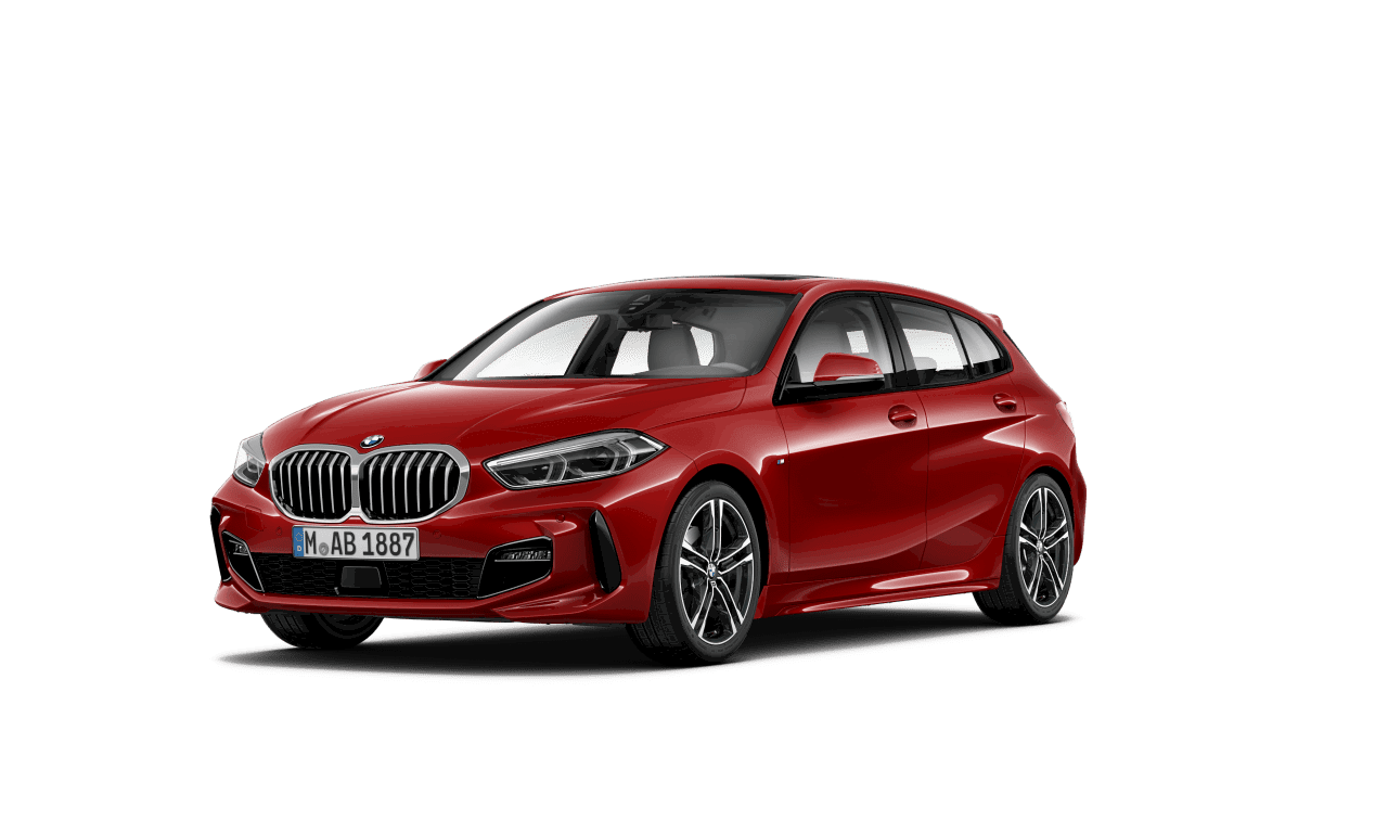 BMW 120d con motor diésel