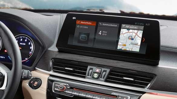 BMW X1con sistema de navegación