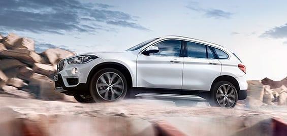 BMW X1 M con suspensión rebajada