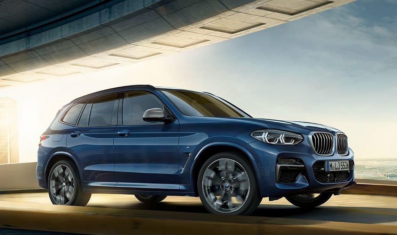 diseño exterior del BMW X3