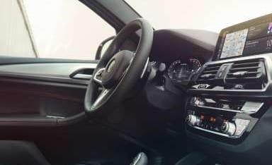 Diseño interior del BMW X4 con acabados exclusivos