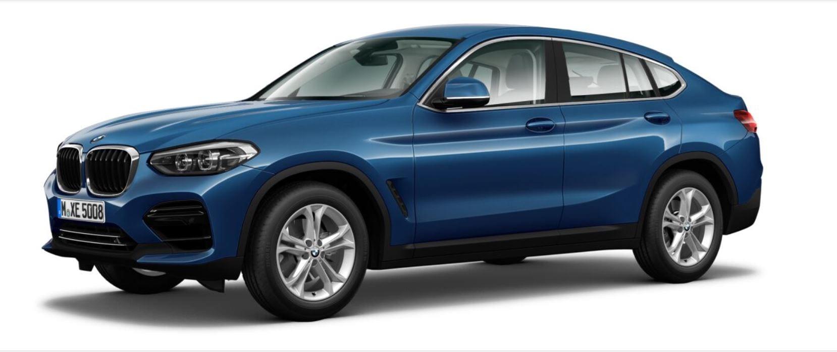 Equipamiento del BMW X4