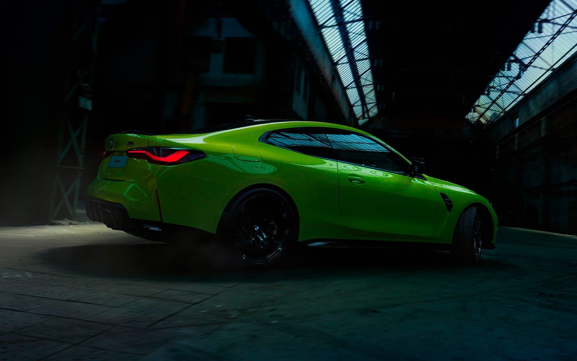 BMW M4 diseño deportivo