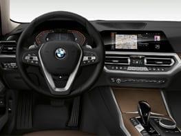 Interior de piel BMW 320
